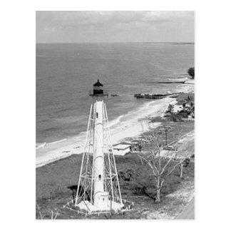 Faro de la gama de la parte posterior de la isla postal