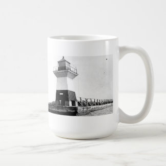 Faro de la huerta del roble taza de café
