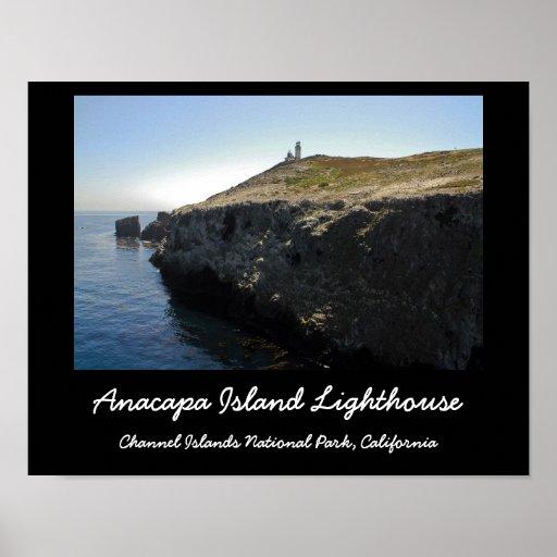 Faro de la isla de Anacapa Posters