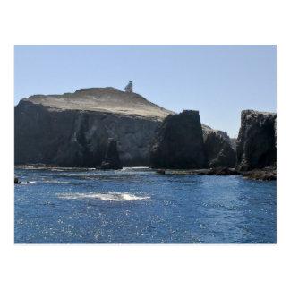 Faro de la isla de Anacapa Tarjetas Postales