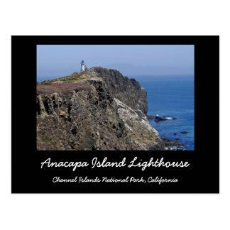 Faro de la isla de Anacapa Postal