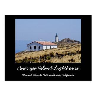 Faro de la isla de Anacapa Tarjeta Postal