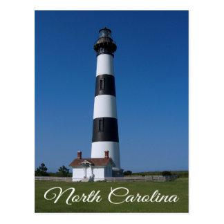 Faro de la isla de Bodie, quejas Carolina del Tarjeta Postal