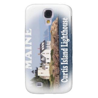 Faro de la isla de Curtis Funda Para Galaxy S4