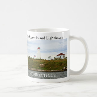 Faro de la isla de Faulkner, taza de Connecticut