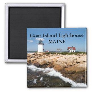 Faro de la isla de la cabra, imán de Maine