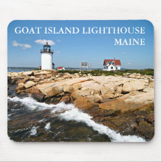 Faro de la isla de la cabra, Maine Mousepad