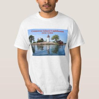 Faro de la isla de la cruce, camiseta de Nueva Poleras