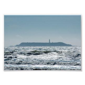 Faro de la isla de la destrucción cojinete
