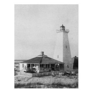Faro de la isla de la nave tarjetas postales