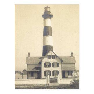 Faro de la isla de Morris Tarjeta Postal