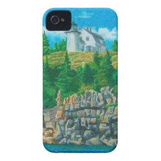 Faro de la isla de oso iPhone 4 protector