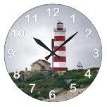 Faro de la isla de Sambro Relojes De Pared