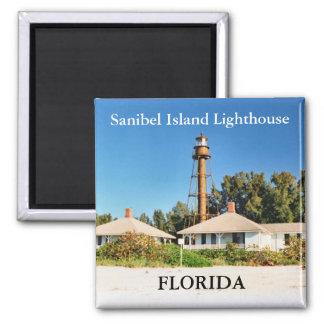 Faro de la isla de Sanibel imán de la Florida