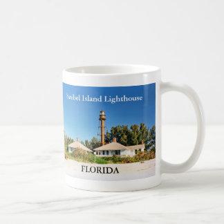 Faro de la isla de Sanibel taza de la Florida