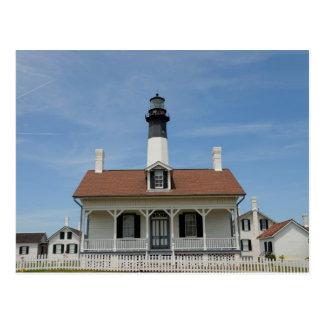 Faro de la isla de Tybee Postal