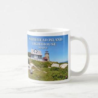 Faro de la isla de Whitehead, taza de Maine