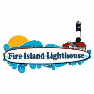 Faro de la isla del fuego esculturas fotograficas