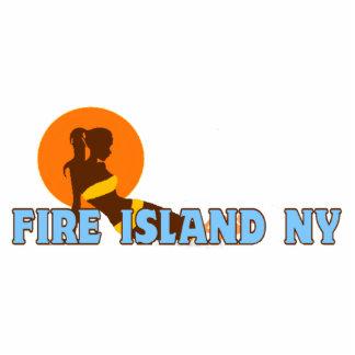 Faro de la isla del fuego escultura fotografica