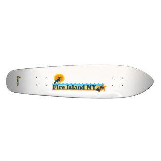 Faro de la isla del fuego patinetas personalizadas