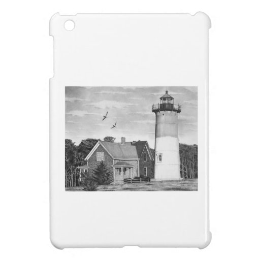Faro de la playa de Nauset, Cape Cod, mA., iPad Mini Carcasa