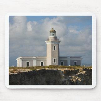 Faro de Los Morillos de Cabo Rojo Alfombrillas De Ratón