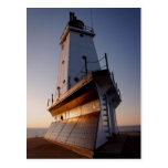 Faro de Ludington Tarjeta Postal