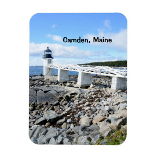 Faro de Maine Imán Foto Rectangular
