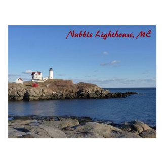 Faro de Maine Tarjetas Postales