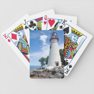 Faro de Marblehead Baraja Cartas De Poker