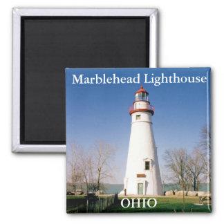 Faro de Marblehead imán de Ohio