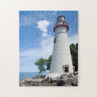 Faro de Marblehead Puzzle Con Fotos