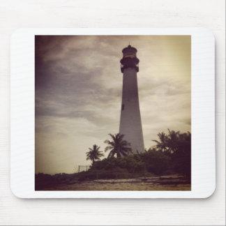 Faro de Miami Alfombrillas De Raton