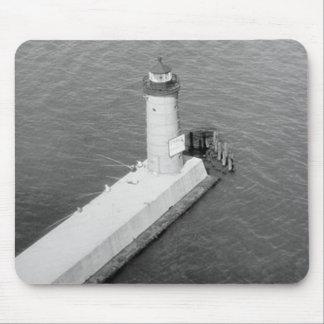 Faro de Milwaukee Pierhead Alfombrillas De Raton