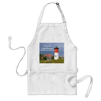 Faro de Nauset, Cape Cod, delantal de