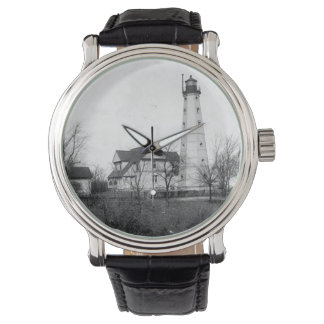 Faro de North Point Reloj