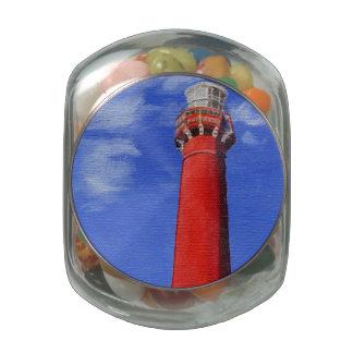Faro de Nueva Inglaterra Jarras De Cristal Jelly Bely