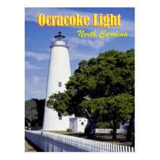 Faro de Ocracoke, Carolina del Norte Tarjeta Postal