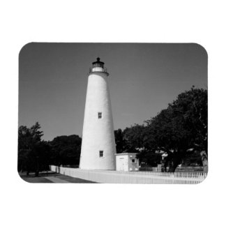 Faro de Ocracoke Imán Flexible