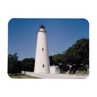 Faro de Ocracoke Iman Rectangular