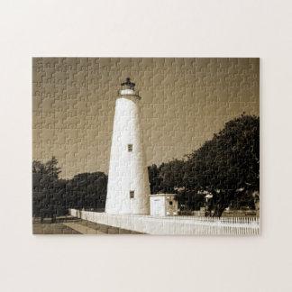 Faro de Ocracoke Rompecabezas
