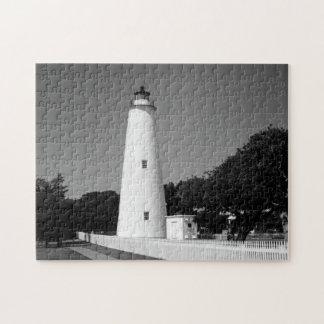 Faro de Ocracoke Rompecabezas Con Fotos