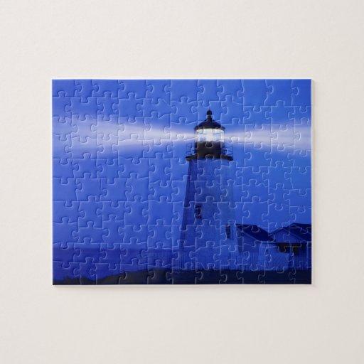 Faro de Pemiquid, Maine Rompecabeza Con Fotos