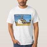 Faro de Pinos del punto, camiseta de California Polera