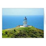 Faro de Reinga del cabo, Nueva Zelanda Felicitación