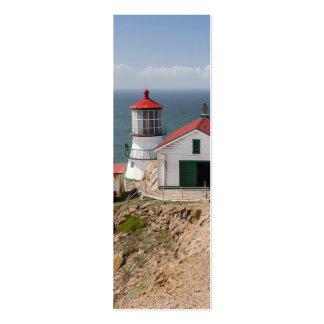 Faro de Reyes del punto, el condado de Marin, Tarjetas De Visita Mini