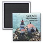Faro de Reyes del punto, imán de California