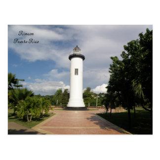 Faro de Rincon Puerto Rico Tarjetas Postales