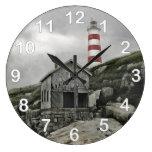 Faro de Sambro, isla de Sambro, Nueva Escocia Relojes De Pared