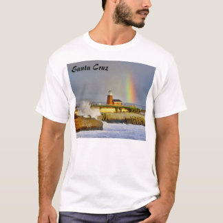 Faro de Santa Cruz/arco iris - camiseta